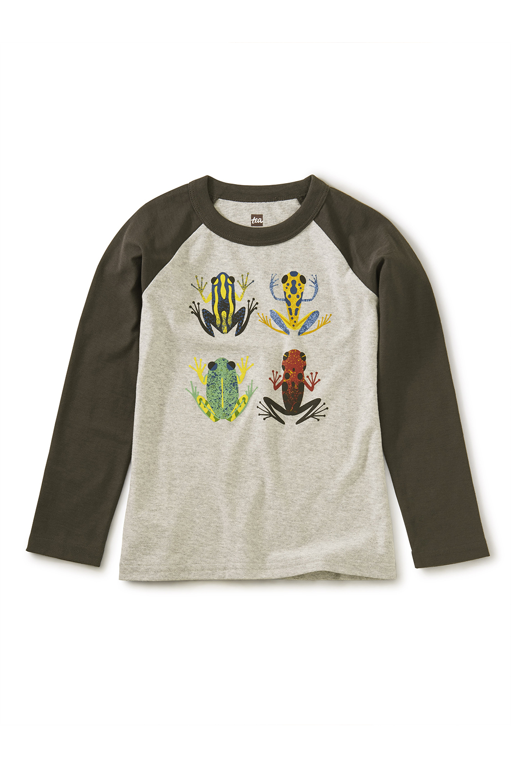 Tea Collection Cloud Forest Frogs Raglan Tee - Main Image