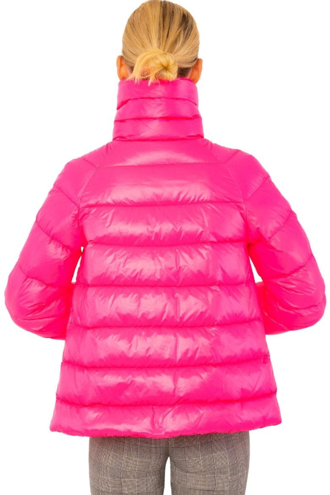Gretchen Scott  Cloud nine quilted swing jacket - Front Full Image