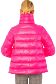Gretchen Scott  Cloud nine quilted swing jacket - Front full body