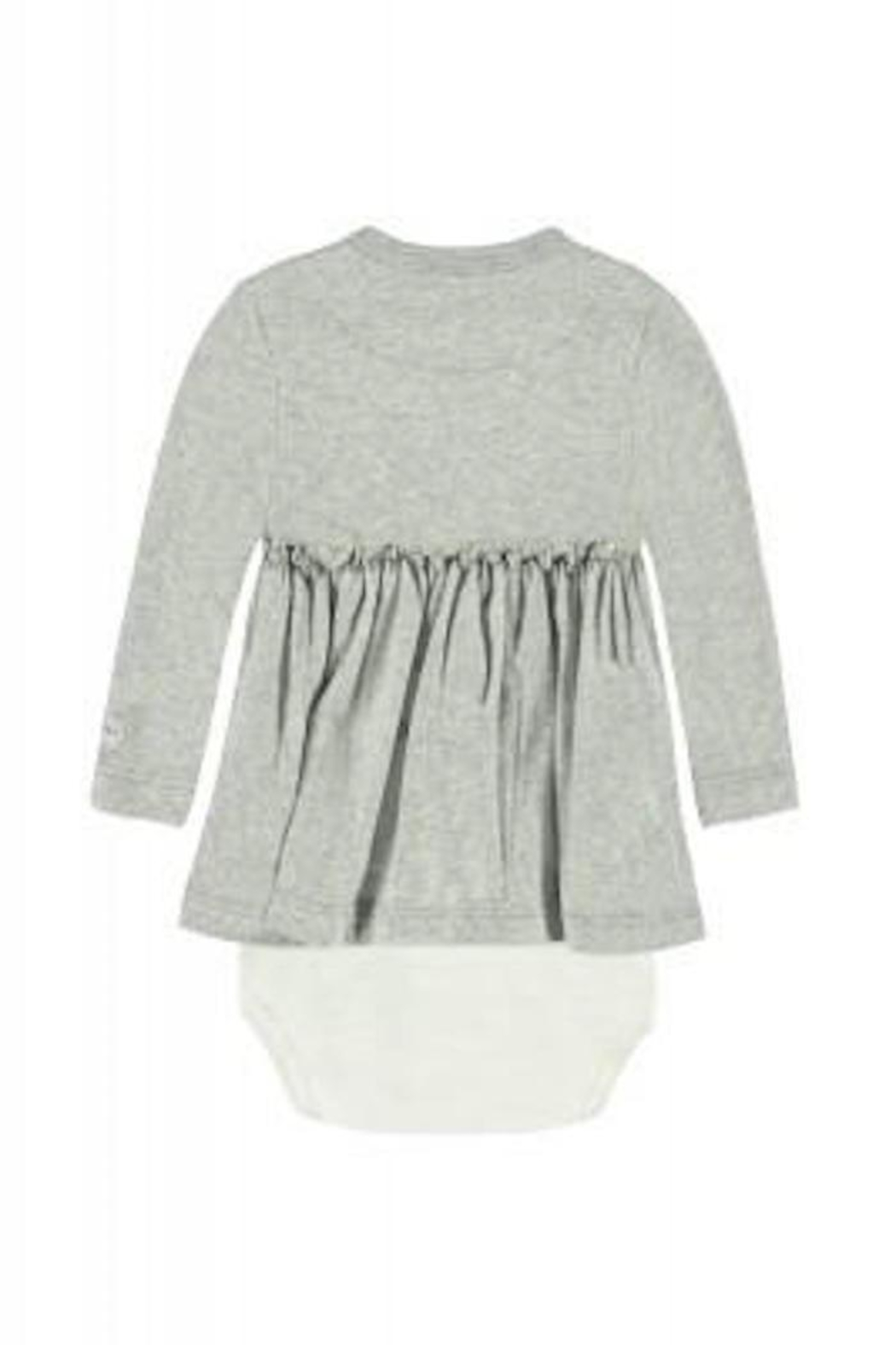 Belly Button Cloud Onesie Dress - Front Full Image