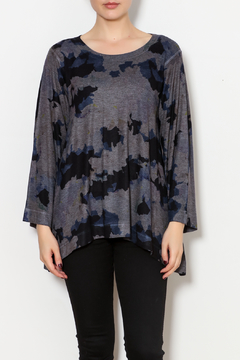 Nally & Millie Cloud Print Knit Top - Product List Image