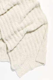 Free People Cloud Rib Blanket Scarf - Front full body