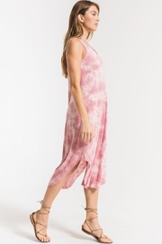 z supply Cloud Tie Dye Maxi Dress - Front full body