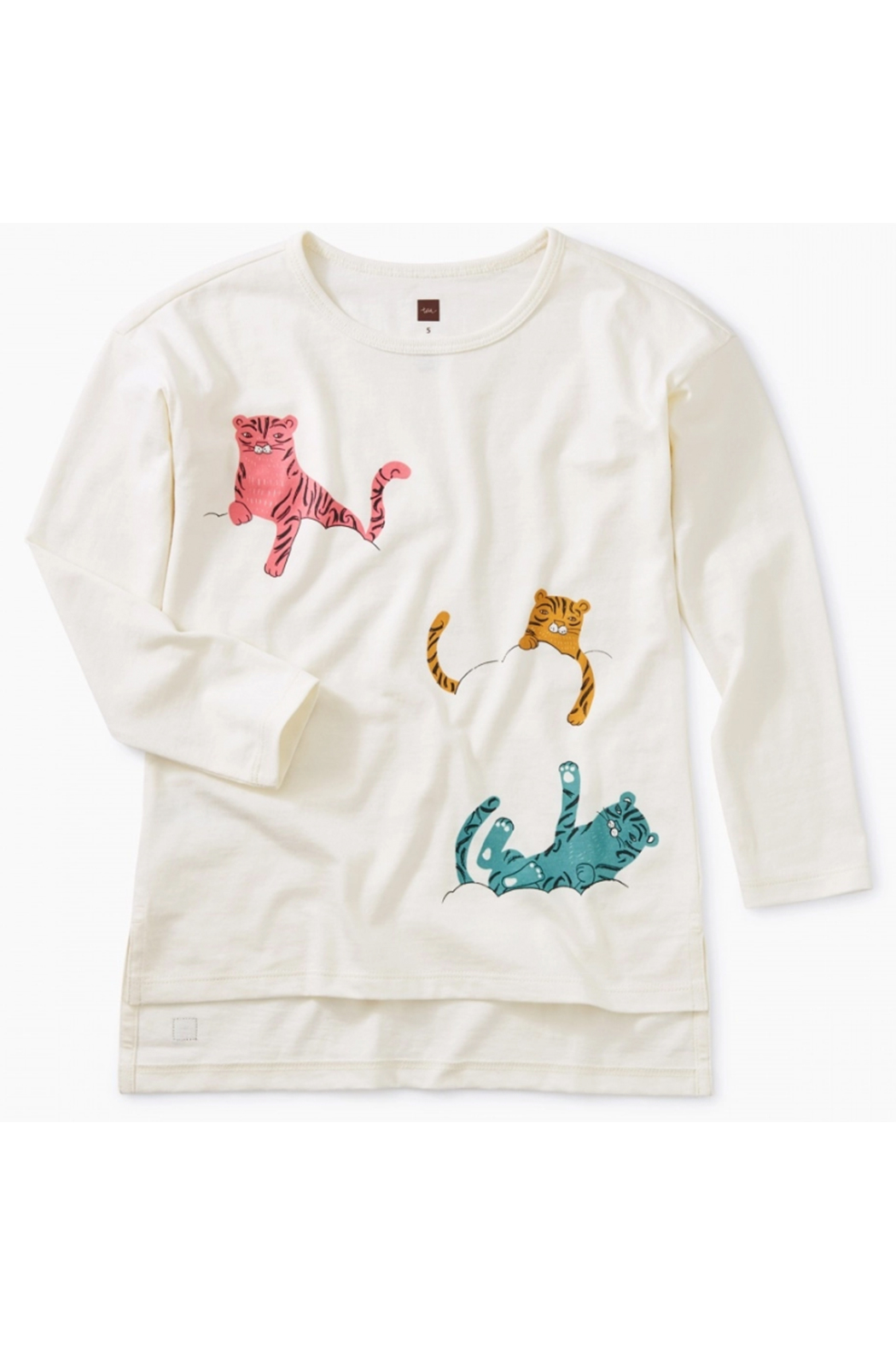Tea Collection Cloud Tigers Graphic Tunic - Main Image