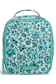 Vera Bradley Cloud Vines Lunch Bunch - Front cropped