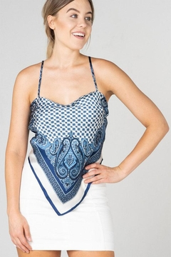 Cloud  Ten Paisley Bandanna Top - Product List Image