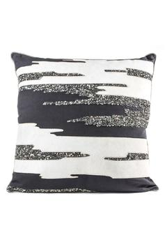 Cloud Nine Silver Beaded Pillow - Product List Image