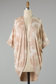 Final Touch CLOUDS KIMONO - Front cropped