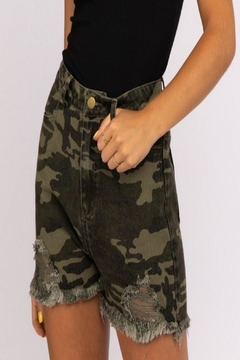 Shoptiques Product: Jane Camo Shorts
