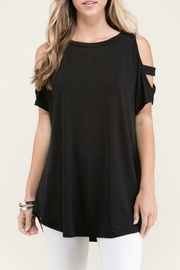 Cloudwalk Cold Shoulder Top - Product Mini Image