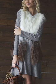 Cloudwalk Faux Fur Ombre - Front cropped