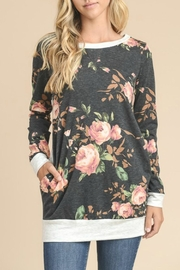 Cloudwalk Floral Tunic Top - Product Mini Image