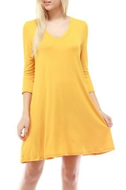 Cloudwalk V-Neck Pocket Dress - Product Mini Image