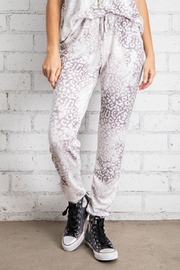 143 Story Cloudy Leopard Lounge Pants - Product Mini Image