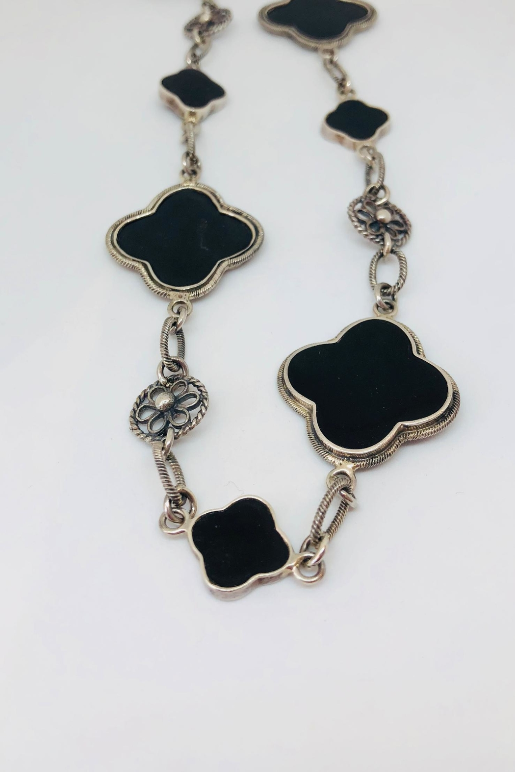 Barry Brinker Fine Jewelry Clover Necklace - Main Image