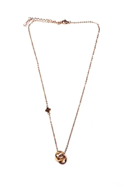 Lets Accessorize Clover Ring Necklace - Product Mini Image