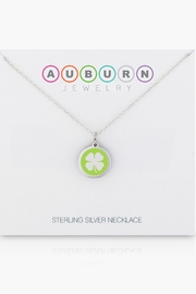 Auburn Jewelry Clover Silver Pendant - Mini - Back cropped