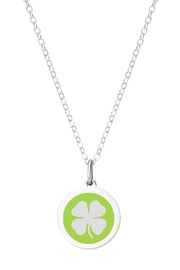 Auburn Jewelry Clover Silver Pendant - Mini - Front cropped