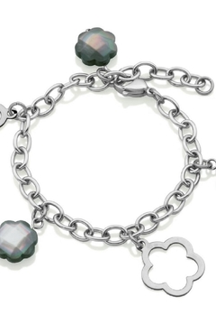 Bling It Around Again Clover Station Bracelet - Product List Image