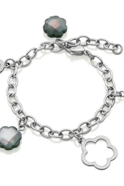 Bling It Around Again Clover Station Bracelet - Product Mini Image