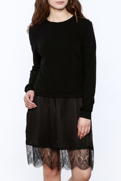 Clu Lace Trimmed Dress - Product List Image