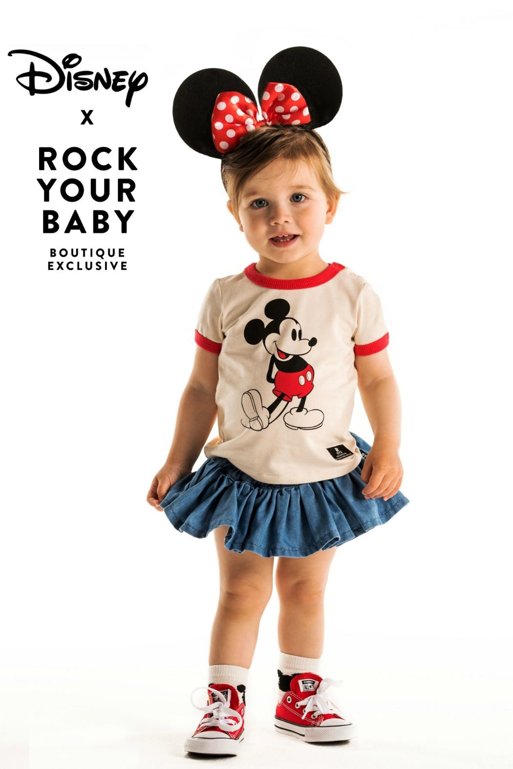 Rock Your Baby Club Leader T-Shirt - Front Cropped Image