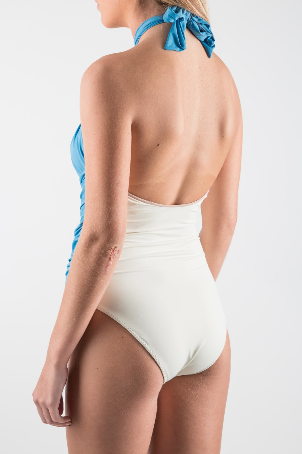 Clube Bossa Biddle One Piece - Back Cropped Image