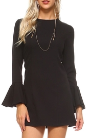 Cluce Black Bell Dress - Product Mini Image