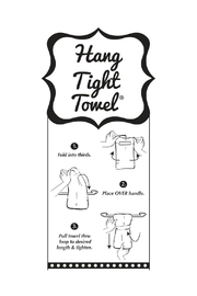 Twisted Wares™ Cluster Fork Towel - Side cropped