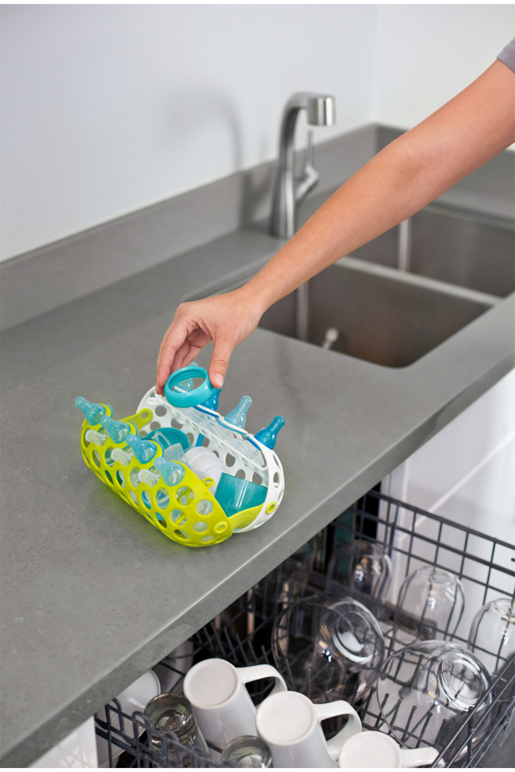 boon by Tomy Clutch Dishwasher Basket - Side Cropped Image