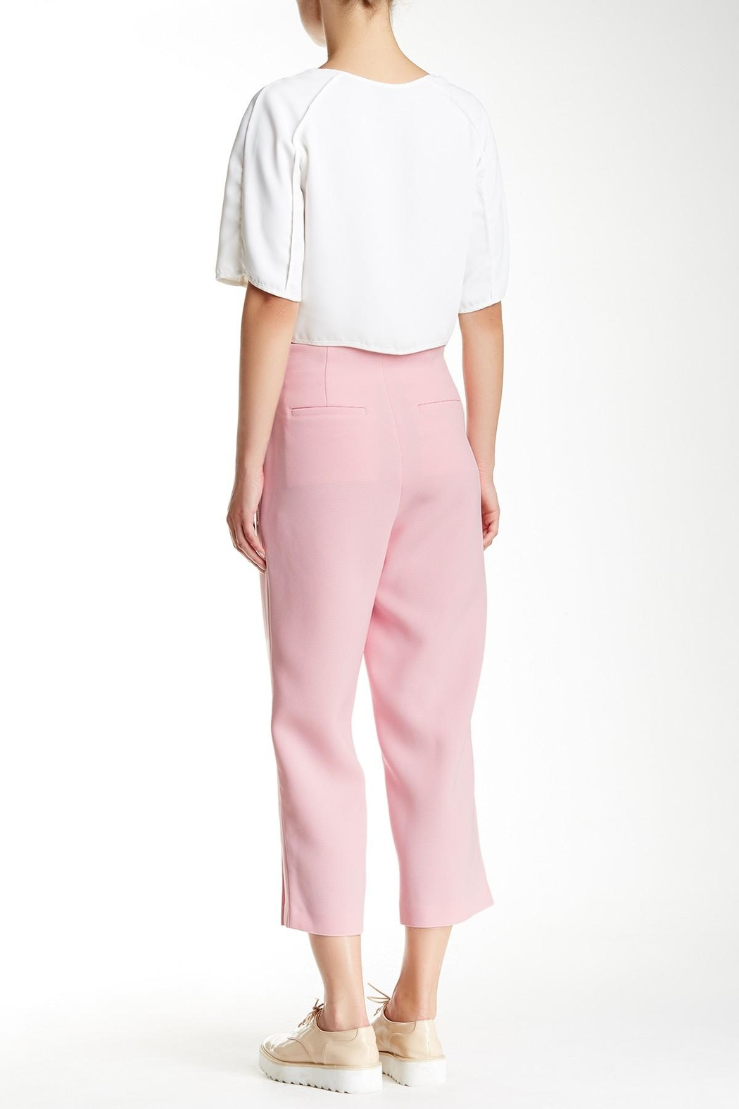 Co + Co BY Coco Rocha Pink Cora Pant - Front Full Image