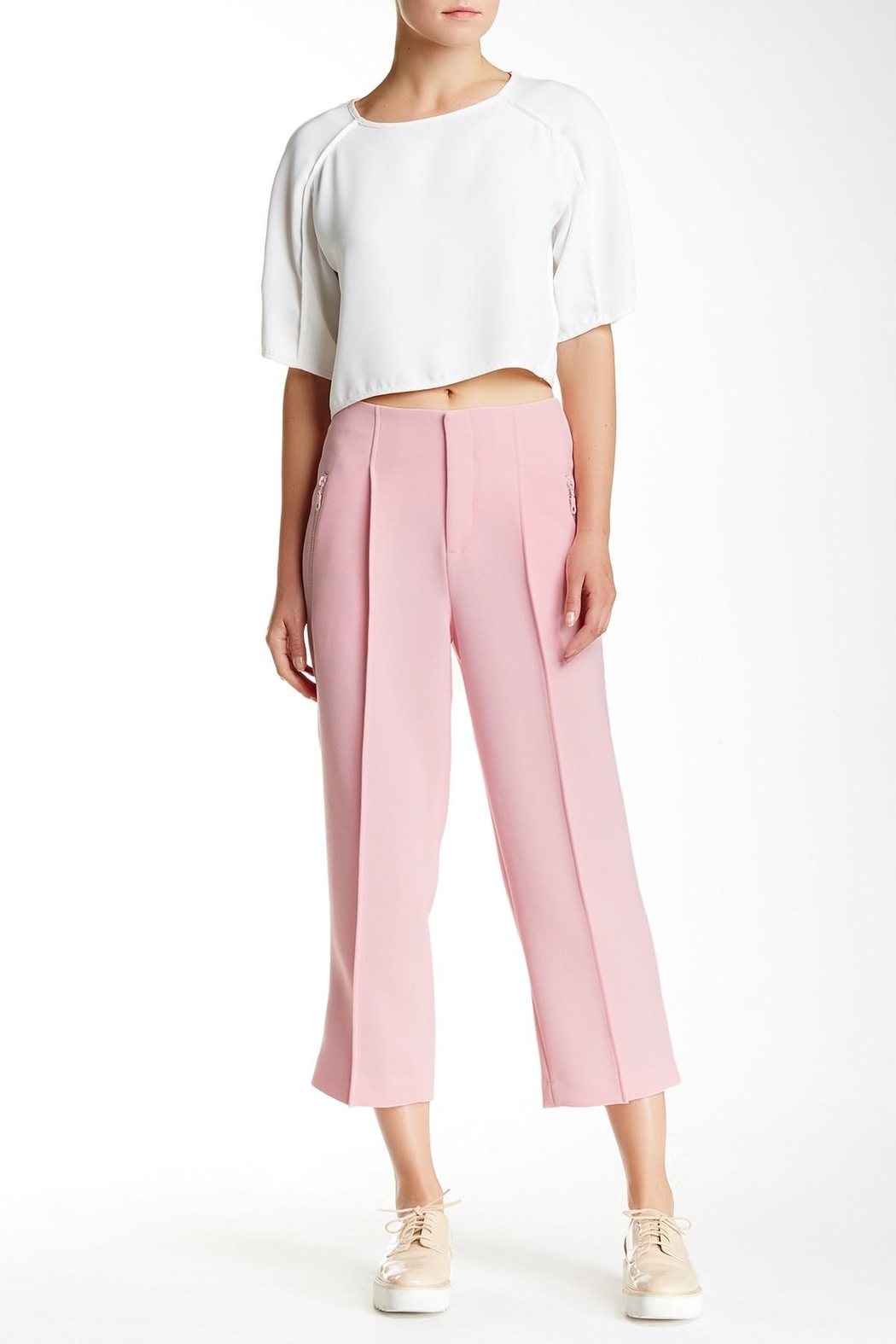 Co + Co BY Coco Rocha Pink Cora Pant - Main Image