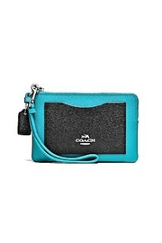 Coach Leather Corner-Zip Wristlet - Product Mini Image