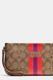 Coach Wristlet - Front full body