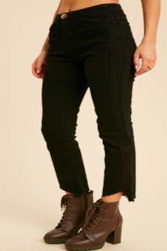 Wishlet Coal Ankle Jean - Product List Image