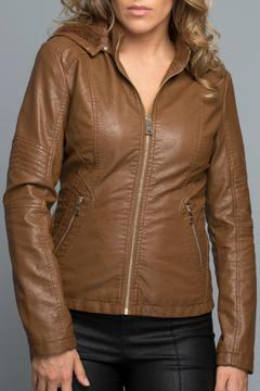 Shoptiques Product: Faux Leather Jacket