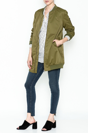 Coalition Hip Length Bomber - Side cropped