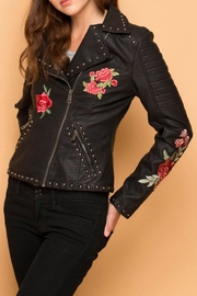 Coalition Vegan Leather Jacket - Product Mini Image