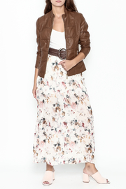 Coalition Leather Look Jacket - Side cropped