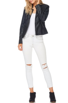 Coalition Moto Faux Leather Jacket - Product List Image
