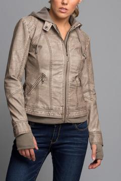 Shoptiques Product: Vegan  Leather Jacket