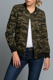 Coalition LA Camouflage Bomber Jacket - Product Mini Image