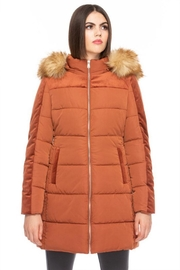 Coalition LA Quilted Puffer Jacket - Product Mini Image