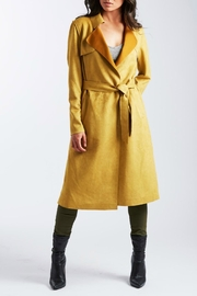 Coalition LA Vega Suede Trench - Product Mini Image