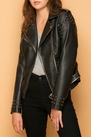 Coalition LA Vegan Leather Jacket - Product Mini Image
