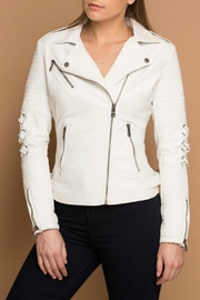Coalition LA Vegan Moto Jacket - Product Mini Image