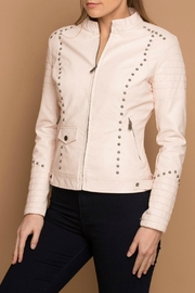 Coalition LA Vegan Stud Jacket - Product Mini Image