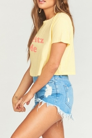 Show Me Your Mumu Coalson Crop Tee - Side cropped