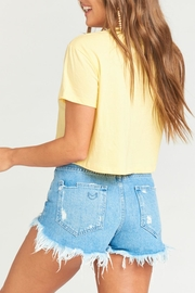 Show Me Your Mumu Coalson Crop Tee - Back cropped