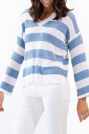 Pink Martini Collection Coast Cottage Sweater - Front cropped